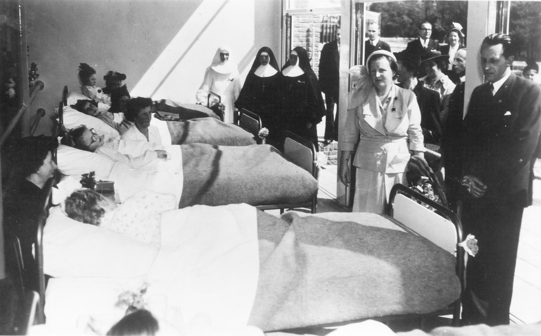 Sanatorium, van het Sint Jozefsheil in de jaren '50.