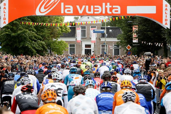 De Vuelta in 2009 in Assen.