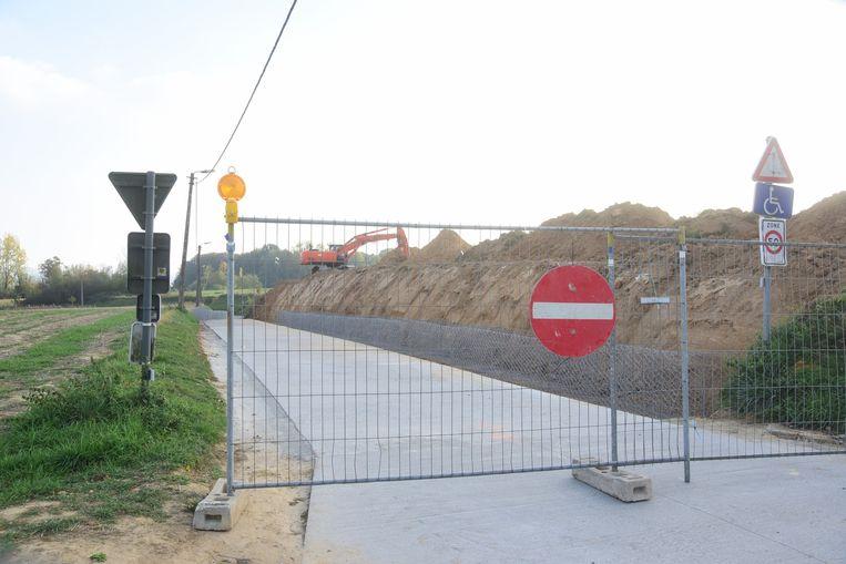 De gemeente gaat uitwijkstroken aanleggen in de Bruinsbroekstraat