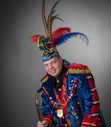 Bon Vivant Willian d'n urste prins van Braokese Zotten in Geldrop