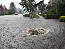 Deel waterschade na noodweer toch vergoed door waterschap De Dommel