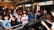 200 scholieren leven zich uit op 'Tomorrowland for Kids'