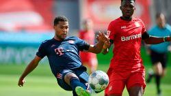 LIVE. Bayern zet scheve situatie nog voor rust recht tegen Leverkusen