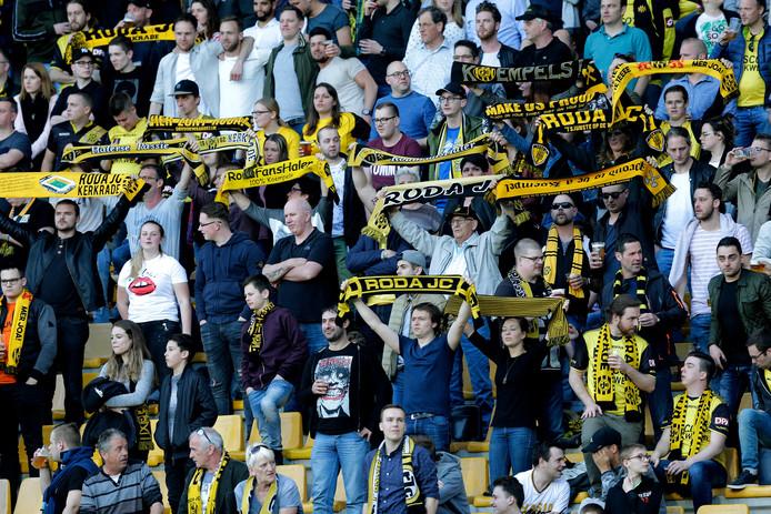 Fans van Roda JC.