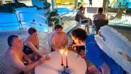 Valentijnzwemmen in Breevenbad