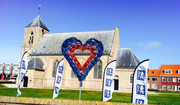 Het marathonhart is terug in Zoutelande.