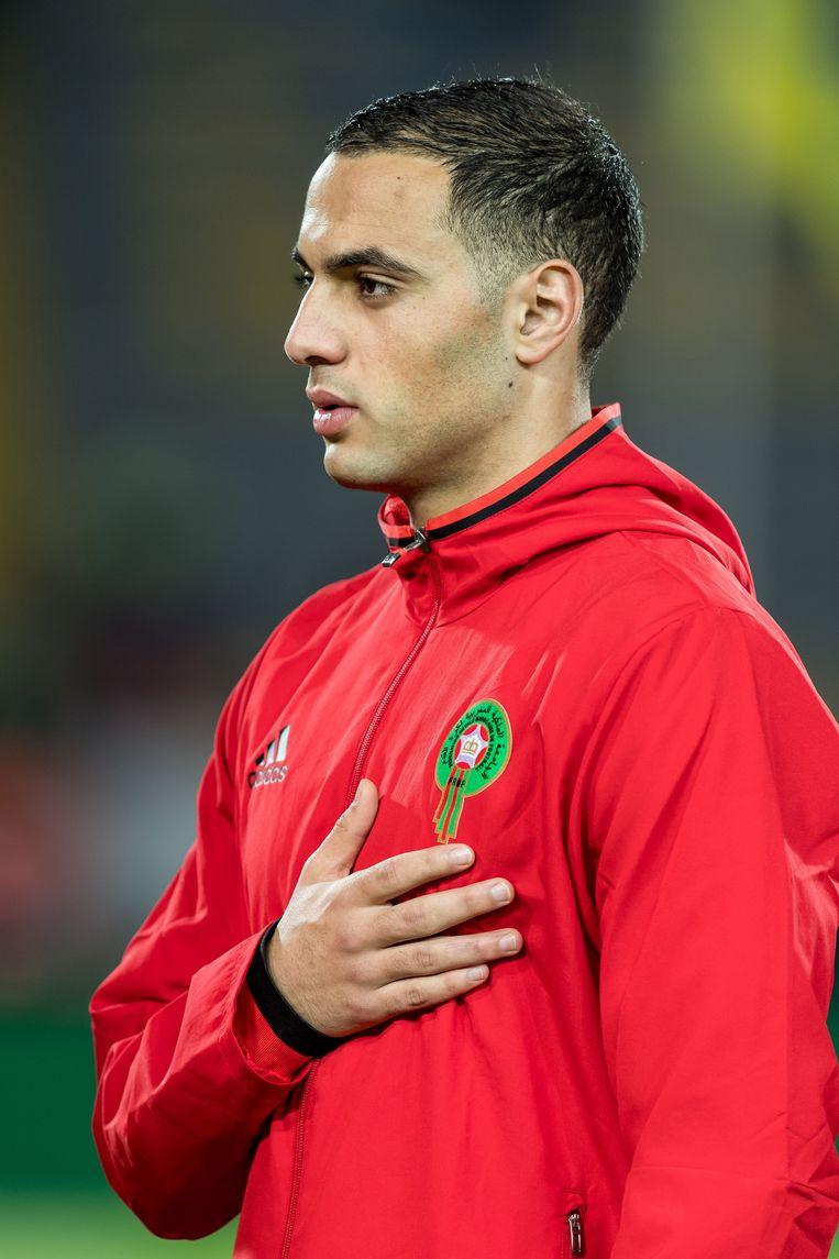 Sofyan Amrabat (21). Beeld Hollandse Hoogte / VI Images