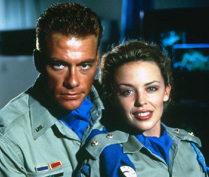 Van Damme en Minogue in 1994.