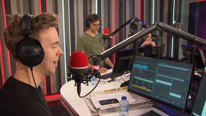 Jonas Van Geel en Koen Wauters namen vandaag de Q-ochtendshow over
