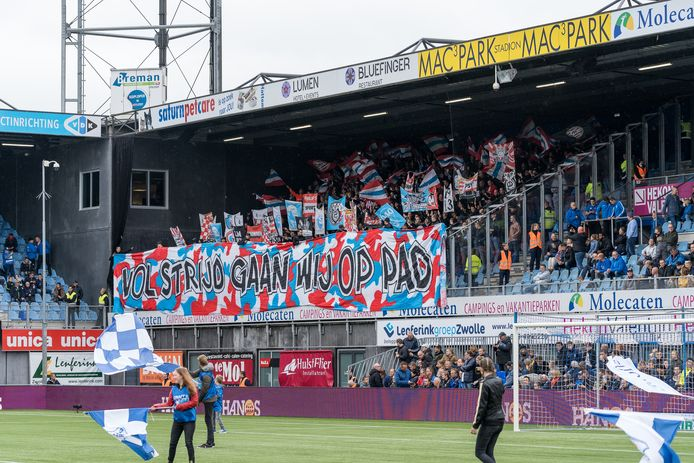 PSV-supporters kunnen