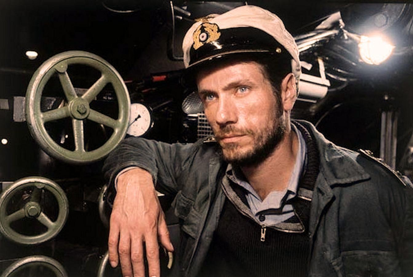 Kapitein Heinrich Lehmann-Willenbrock wordt in de film 'Das Boot' gespeeld door Jürgen Prochnow.