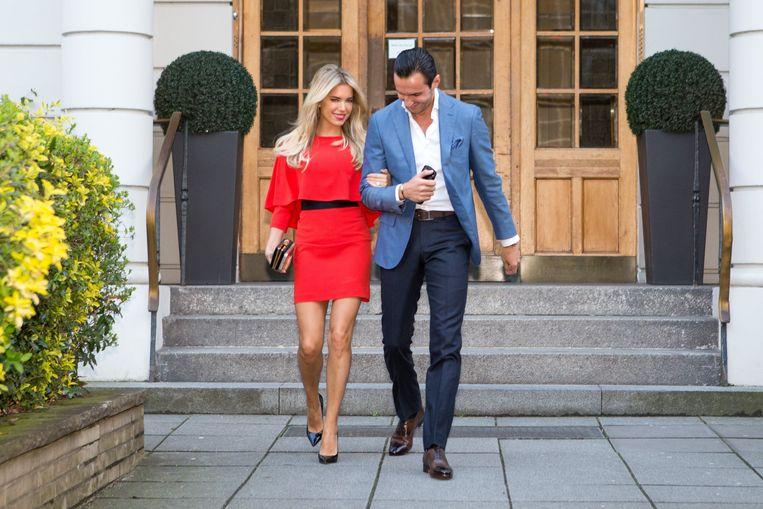 Sylvie en Charbel verbraken hun verloving enkele maanden geleden al.