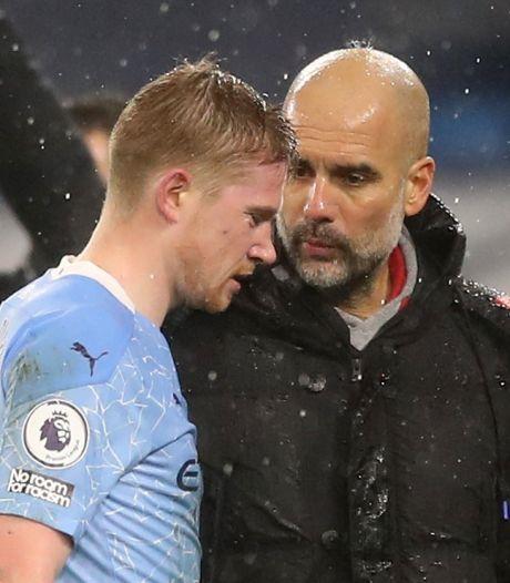 Manchester City vreest dat het De Bruyne tijdje kwijt is