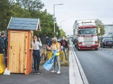 Protestactie tegen invoer 80.000 ton vlees in Gentse haven