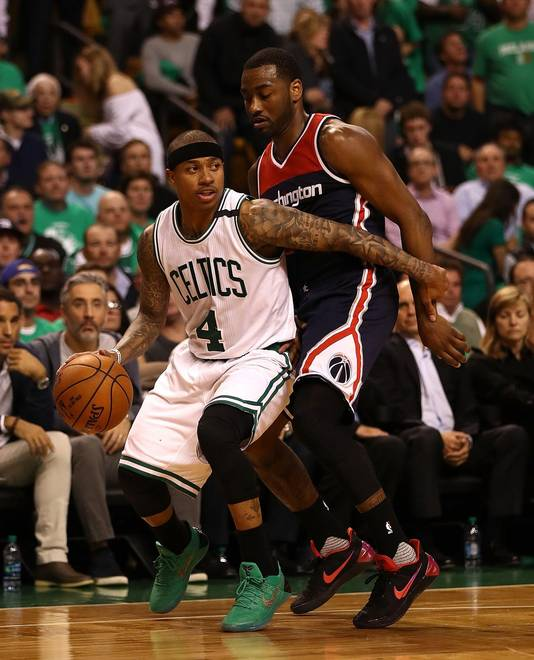 Isaiah Thomas, l'un des fers de lance des Boston Celtics.