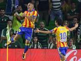 Negen goals en bizar scoreverloop bij Valencia