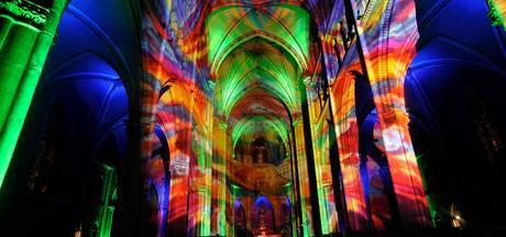 Glow Run Eindhoven door Catharinakerk in jubileumjaar