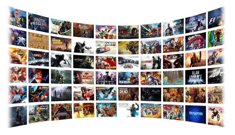 Klik op beeld voor overzicht van gamesaanbod. Beeld Nvidia