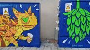 Wandel- en fietsroute voert je langs 13 nutskasten met straatkunst in Asse