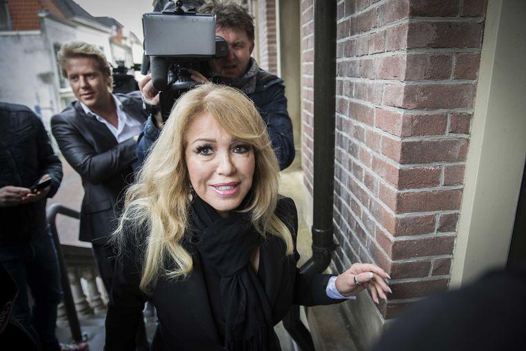 Patricia Paay (68) en haar 35 jaar jongere echtgenoot Robbert Hinfelaar.
