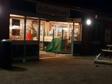Ramkraak bij Ter Huurne in Buurse: auto rijdt ingang aan gort