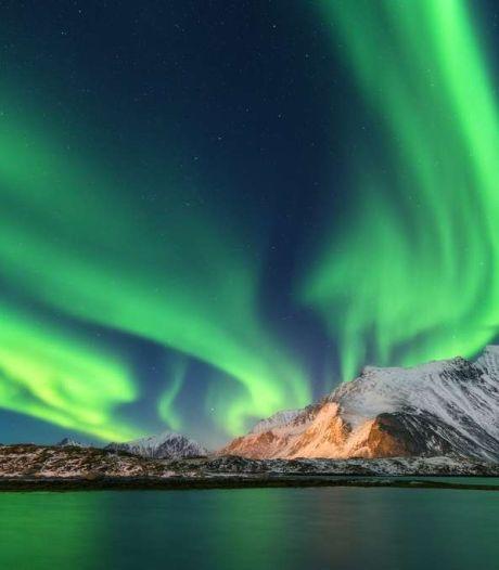 De magnifiques aurores australes filmées en Antarctique