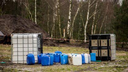 Weer aanzienlijke hoeveelheid drugsafval gedumpt in Limburg