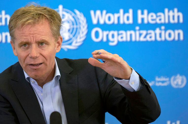 Bruce Aylward, adjunct-directeur van het WHO. Beeld REUTERS