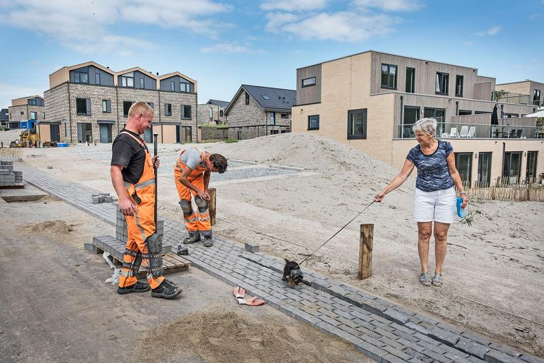 De nieuwbouwwijk Duin in Almere Poort, een wijk waar de huizenprijzen snel stijgen. Beeld Guus Dubbelman / de Volkskrant