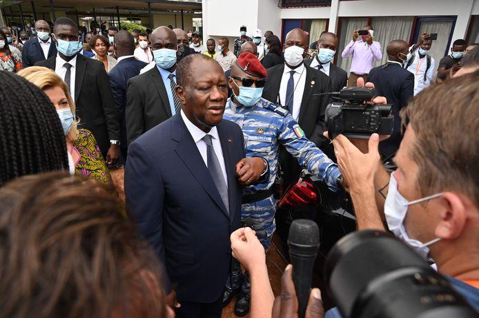 President Alassane Ouattara.
