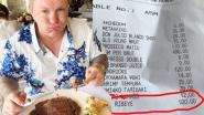 Ex-wereldkampioen boksen Ricky Hatton in tranen nadat hij 'per ongeluk' steak van 920 euro bestelt