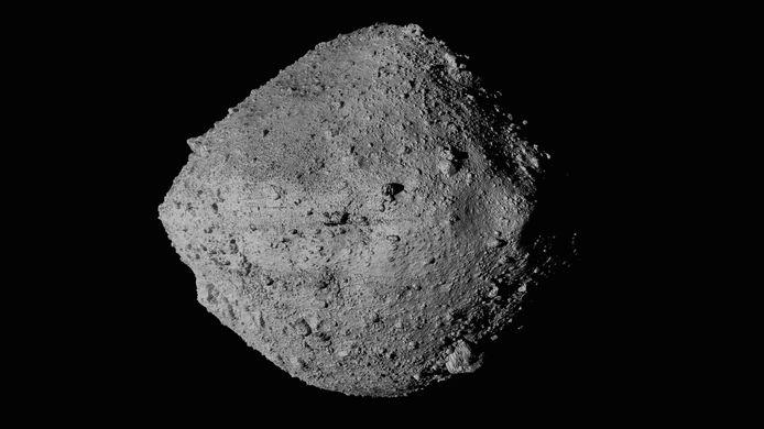 L'asteroïde Bennu photographié par la sonde américaine Osiris-Rex.