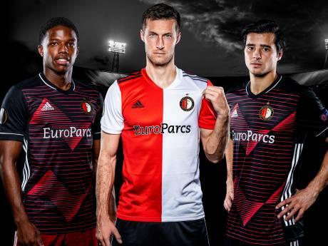 Feyenoord verlengt contract shirtsponsor en krijgt nieuw Europees shirt