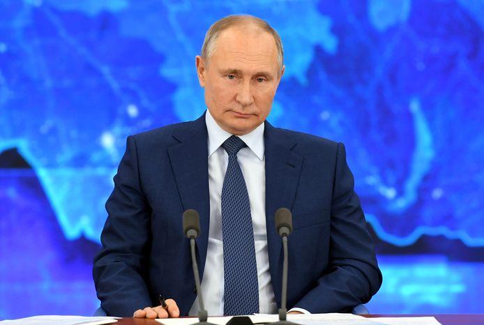 Russische president Vladimir Poetin