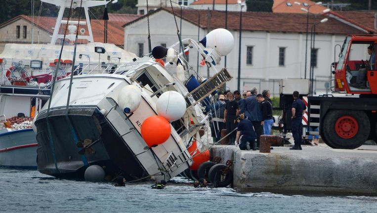 Twee boten met migranten kapseisden nabij het Griekse eiland Samos.