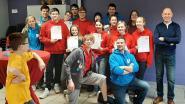 Negen jeugdige Rode Kruisers behalen diploma Eerste Hulp
