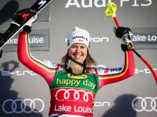 Rebensburg wint eerste wereldbeker super-G in Lake Louise