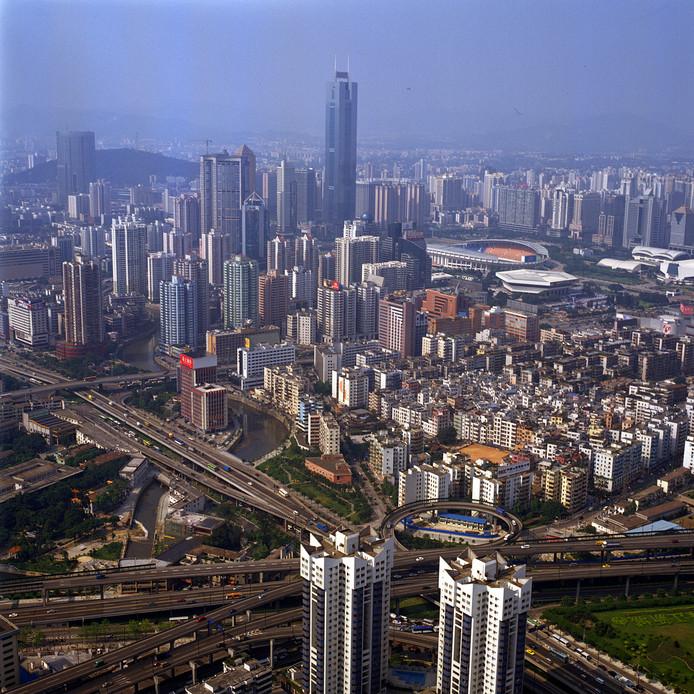 De stad Guangzhou. Museum Oud Amelisweerd gaat samenwerken met het museum in deze hoofdstad van de Zuid-Chinese provincie Kanton.