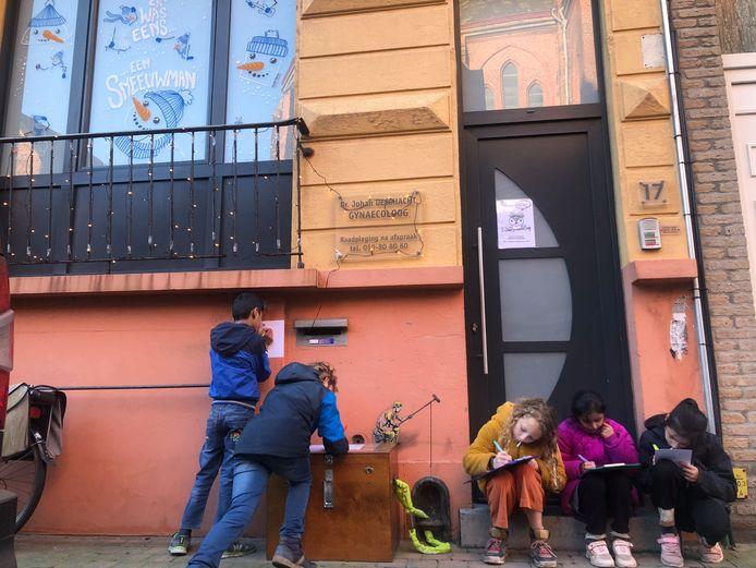 Leefschool De Vlieger pakt uit met een creatieve wandeling door Oostende