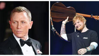 Daniel Craig wil Ed Sheeran voor titelnummer 'Bond 25'