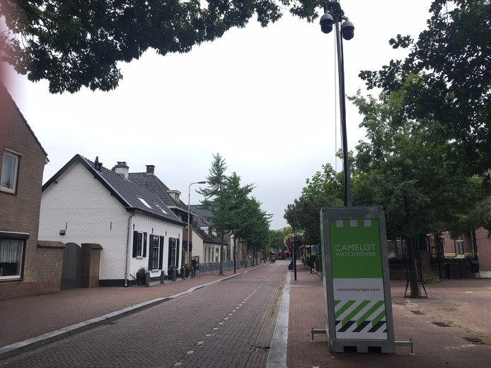 Mobiele camera bewaakt Eikenboomgaard in Oss.