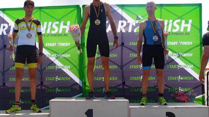 Wesley Uyttebroeck haalt brons op BK Duatlon Long Distance