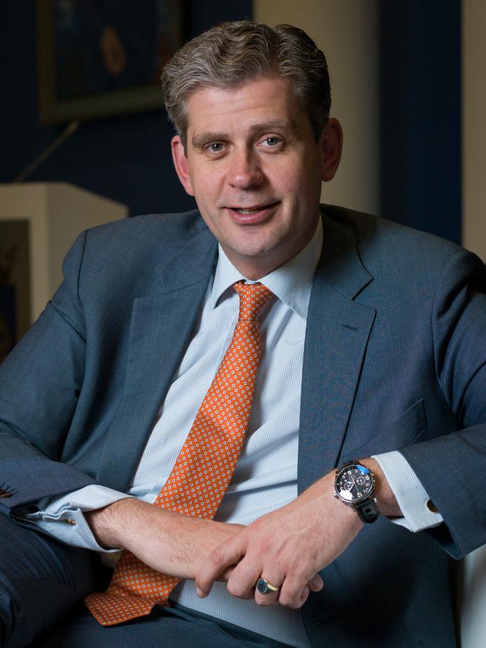 Wouter Kolff, op dit moment burgemeester van Veenendaal.
