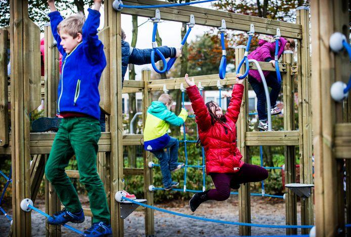 Speeltuin Okee in Hoogland is vrijdag officieel geopend.