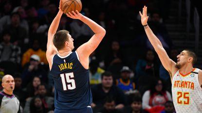 Serviër Jokic vestigt persoonlijk puntenrecord in NBA bij zege Nuggets