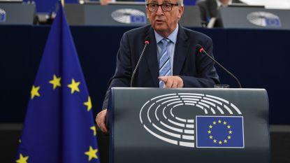 """Juncker betreurt """"tijdsverspilling"""" als gevolg van aanslepende brexit-saga"""
