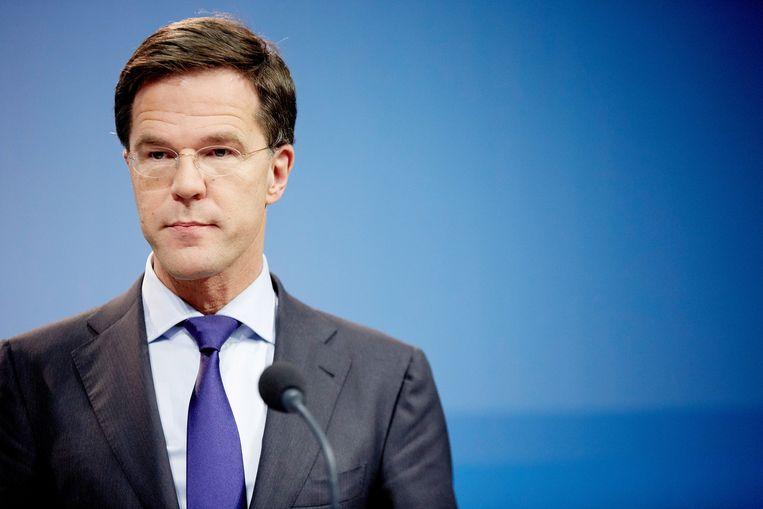 Premier Rutte en zijn kabinet kregen lof voor de repatriëring van de slachtoffers en het organiseren van de nationale herdenking. Beeld ANP