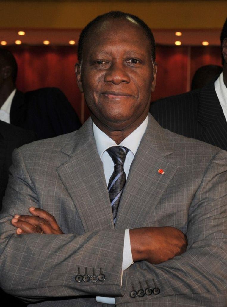 Alassane Ouattara. Beeld afp