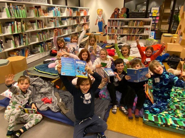"""""""We willen het leesplezier bevorderen"""", zegt bibliothecaresse Marleen."""
