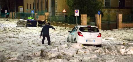 Onverwachte ijsstorm legde in tien minuten heel Rome lam